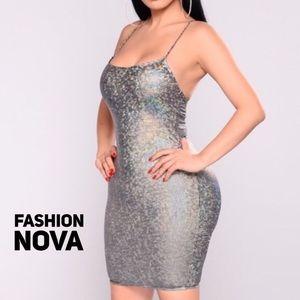 Celestial Coordinates Dress by Fashion Nova